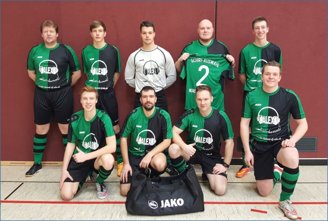 SR-Auswahl Nordthüringen in neuer Spielkleidung beim Turnier in Gotha