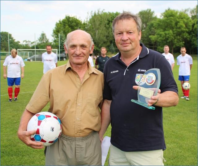 Ältester Spieler im KFA