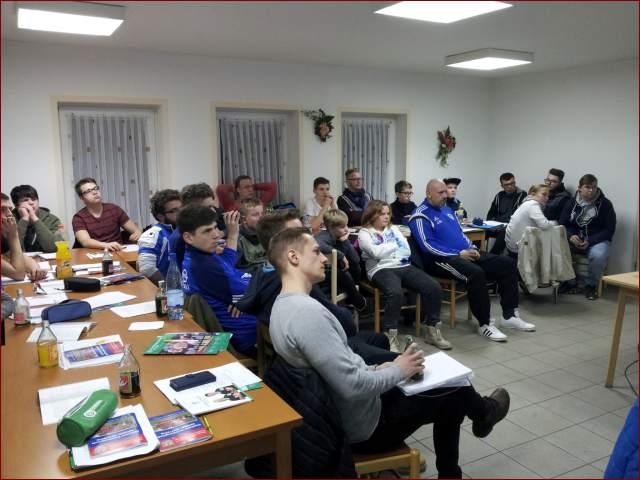 Schiedsrichterausbildung in Großfurra