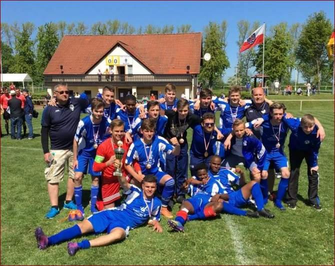 Pokalsieger A-Junioren SV 91 Bad Frankenhausen