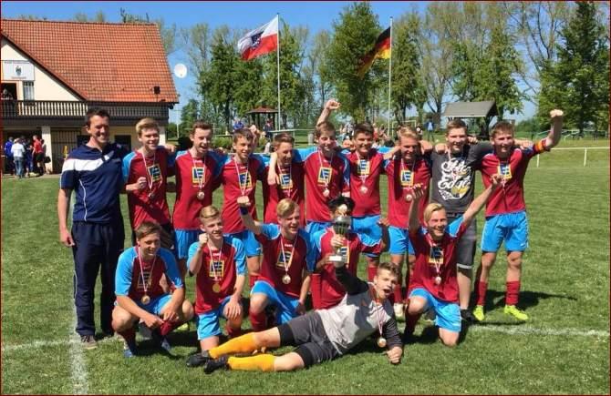 Pokalsieger B-Junioren VfB Oldisleben