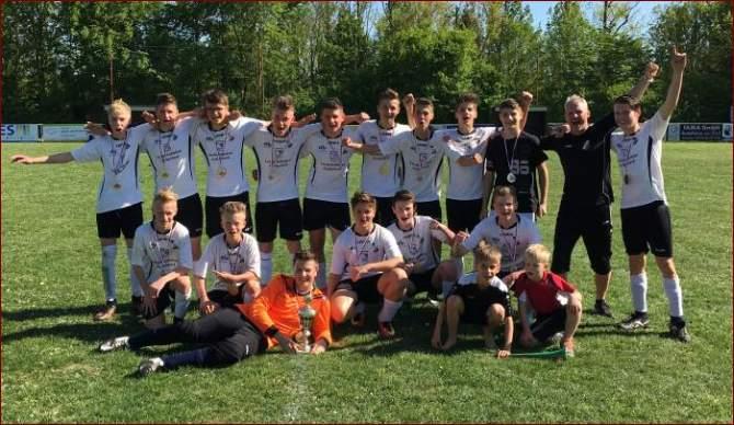 Pokalsieger C-Junioren VfB Artern